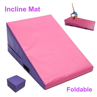 Gymnastics Training Wedge Folding Incline Mat Mounting Block Vault Cube Decline