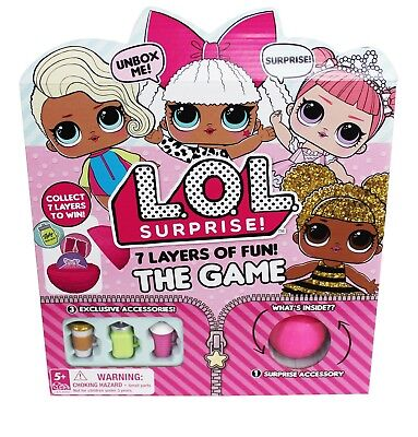 """LOL Surprise Board Game 7 Layers Of Fun!! Free Shipping!! """"US SELLER"""""""