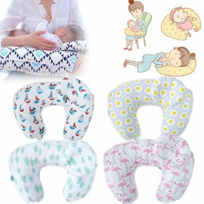 Soft U-Shape Maternity Breastfeeding Support Pillow Newborn Baby Nursing Cushion