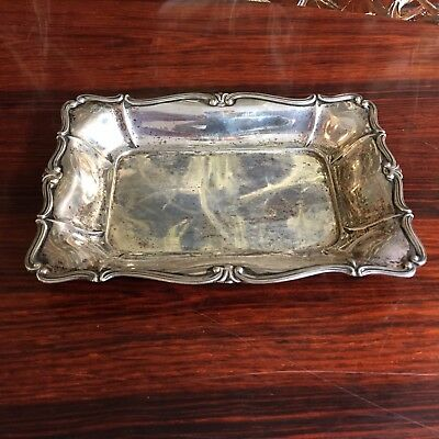 Noble Small Bowl/Chocolate Bowls 800 Silver - approx. 135 Grams