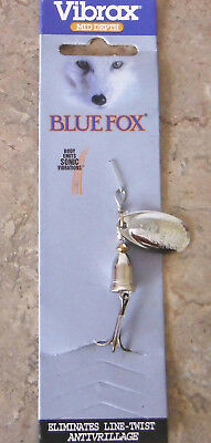 Blue Fox Vibrax Spinner size 2, 6 grams – Silver, Trout Redfin Lure