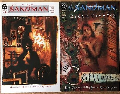SANDMAN #16 & 17 (DC Comics, Vertigo, 1990) Neil Gaiman & Dringenberg, Jones NM