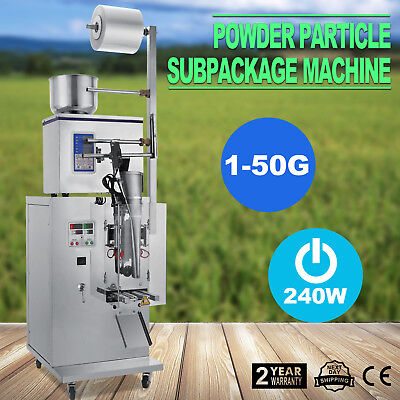 1-50g Weighing Packing Filling Particles&Powder Machine Automatic Adjustable