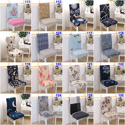 Stretch Dining Chair Covers Removable Slipcover Spandex Wedding Cover 2/4/6/8Pcs