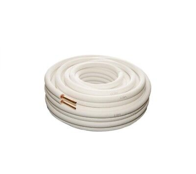 Air Conditioner Pair Coil Tube 1/4 3/8 Insulated Copper Pipe Twin Pair 5 metre