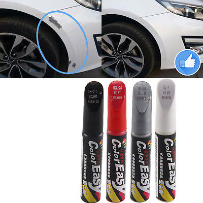 4 Colors DIY Car Clear Scratch Remover Pen Auto Paint Repair Pens Brush New