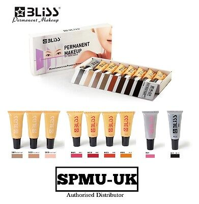Microblading Pigment Bliss, SPMU Semi Permanent Make-up, Eye Brow Lip tattoo Ink