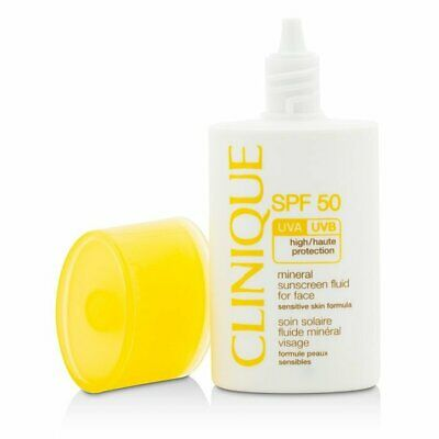 Clinique Mineral Sunscreen Fluid For Face SPF 50 - Sensitive Skin Formula 30ml
