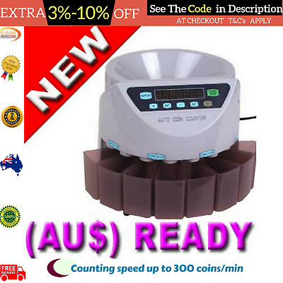 Australian Money Coin Counting Sorter Counter Machine Automatic Modern Currency
