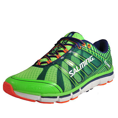 Salming Miles Premium Men's Running Shoes Fitness Gym Workout Trainers Green