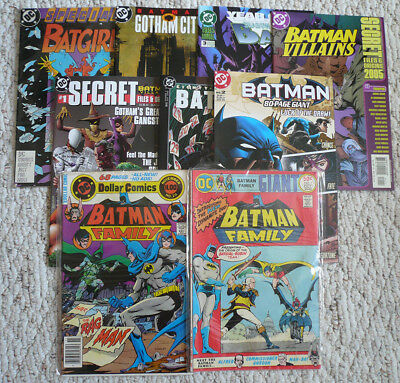 Batman DC comic lot - 9 issues in all (See listing for issues) Batgirl Special