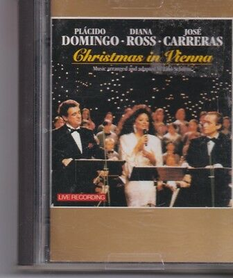 Domingo-Diana Ross Carreras-Christmas In Vienna minidisc album