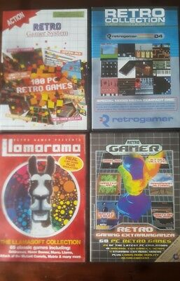 retro gamer collection 4 collections