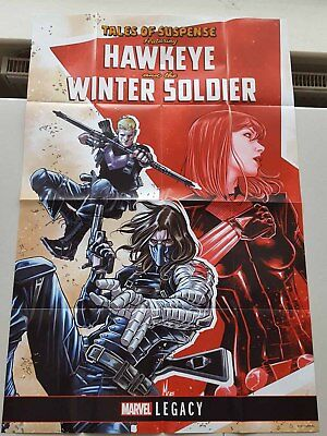 Tales Of Suspense: Hawkeye & Winter Soldier - Marvel Promotional Folded Poster