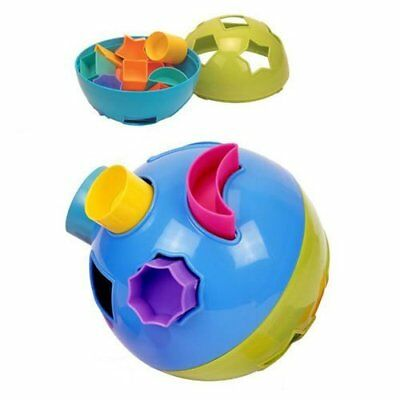 Baby Shape Sorter Ball Fun Time Infant Toddler Learning Activity Play Toy NEW