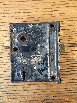 Antique M.W & Co. box lock/rim lock