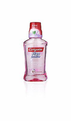 Colgate Plax Sensitive Mouthwash - 250 ml Removes upto 999 percent Germs