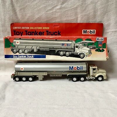1993 toy tanker truck Mobil Original box Limited edition collectors series