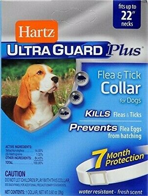Hartz Ultraguard Plus Flea &tick Dog Collar 7 Month Protection (Pack Of 2)