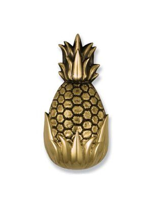 Michael Healy Designs Hospitality Pineapple Door Knocker – Brass (o0N)