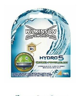 Wilkinson Sword Hydro 5 Groomer Power Select Rasiererklingen (4er Pack Neu & OVP