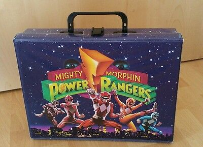 MIGHTY MORPHIN POWER RANGERS Kinderkoffer !Made in Germany! 1994
