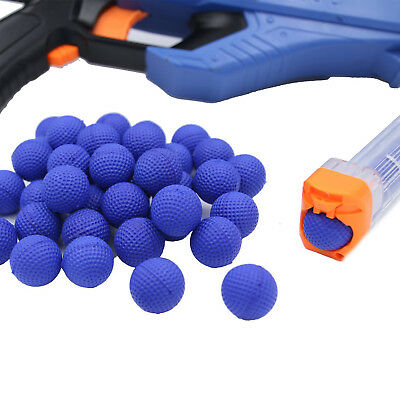 50pcs/100pcs Bullet Balls Round Compatible For Nerf Rival Apollo Toys Gun Refill
