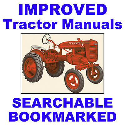 McCormick A, AV SERVICE MANUAL Operator PARTS -3- MANUALS SEARCHABLE Tractor CD