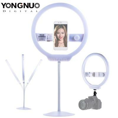YONGNUO YN128 LED Photo Studio Ring Video Light Live Selfie for Canon Nikon DSLR