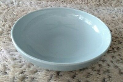 Vintage Mid Century Modern Russel Wright Iroquois Ice Blue Vegetable Bowl