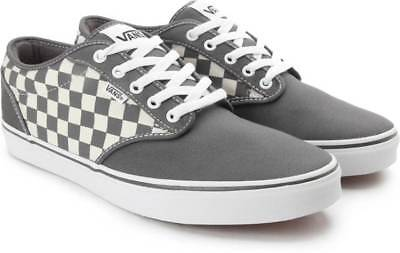 dea9952eac0 VANS ATWOOD (CHECKERS) Gray Natural Casual Shoes New In Box -  50.00 ...