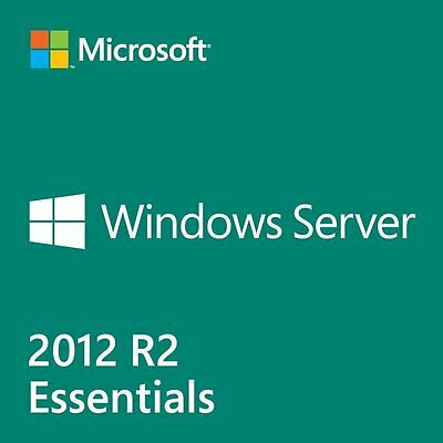 Microsoft Windows Server 2012 R2 Essentials with 25 Cal PN: G3S-00716