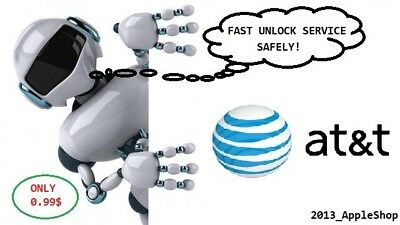 Fast Factory Unlock Service Iphone Att Usa 4 5S Se 7 7 8 X Clean Only