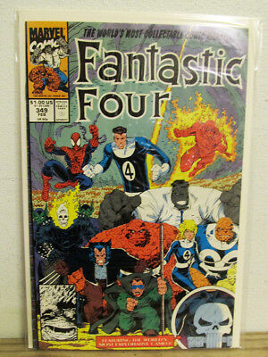 Fantastic Four #349 (Feb 1991, Marvel)