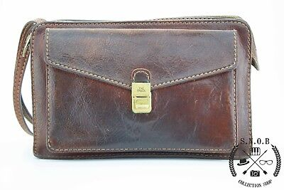 Portafoglio in pelle The Bridge Wallet Leather Original Made in Italy