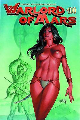 Warlord of Mars #100 Linsner Variant 48 page Special Dynamite Comics NM 2014