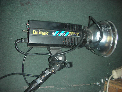 Britek Hs-1000 Professional Studio Flash