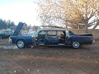 1965 Lincoln Continental Lehmann-Peterson 1965 LEHMANN-PETERSON LIMOUSINE BARN FIND PROJECT CAR 1966 1964 1963 JFK