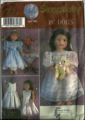BUTTERICK 3490 OOP Soft 18in Maggie Doll /& Wardrobe Pattern Reduced!
