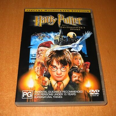 Harry Potter And The Philosopher's Stone ( 2-Disc Dvd , Region 4 ) ~ Very Good !