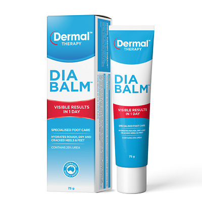 Diabalm   Foot Cream   Dry Cracked Heels Relief Skin Protectant   Foot treatment