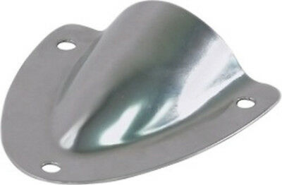 4X Stainless Steel Clam Shell Vent Boat Accessory Surface Wire Cable Vent Cover