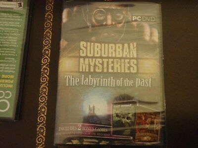 Suburban Mysteries: LABYRINTH of the PAST Hidden Object 3 pack New! DVD PC Game