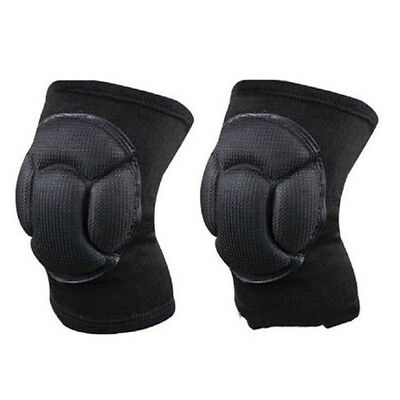 1 Pair Soft Protect Shockproof Sponge Knee Pads Brace Sports Support Accessory