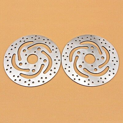 Front Brake Disc Fit For Harley Sportster XL883 1200 Dyna1450 Touring1450 FLHRCI