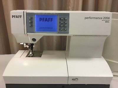 PFAFF PERFORMANCE 2056 mit Doppeltransport