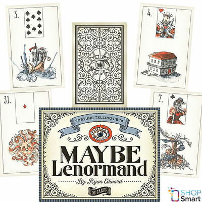 Maybe Lenormand Oracle Deck Cards Ryan Edward Esoteric Telling Astrology New