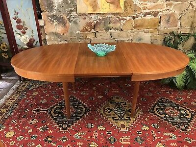 Retro Chiswell Dining Extension Table~8 Seater~Eames Parker Era