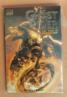 Marvel Comics Graphic Novel Ghost Rider Road To Damnation HB 1st Print Premiere