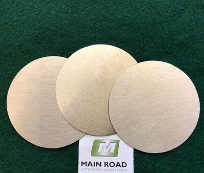 Mild Steel Discs / Circles 3.0mm thick various diameters